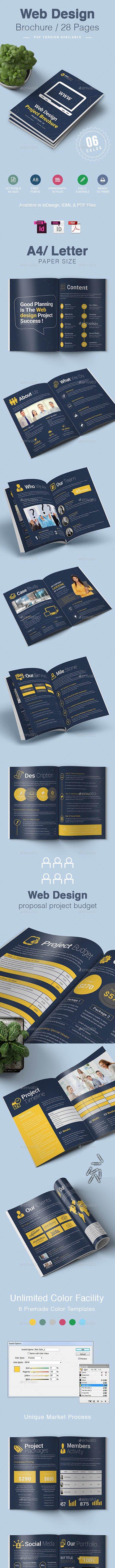 GraphicRiver - Web Design Brochure 26531500