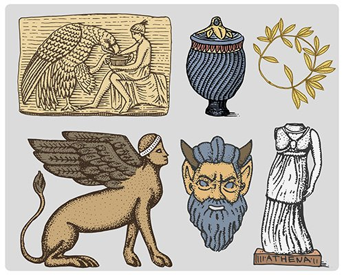 Ancient Greece symbols