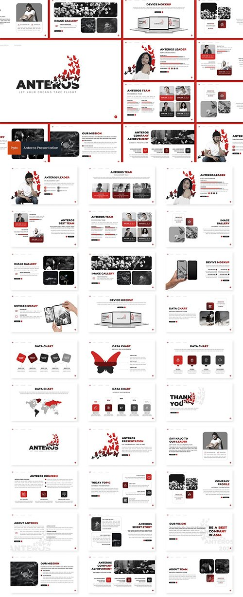 Anteros - PowerPoint, Keynote, Google Slides Templates