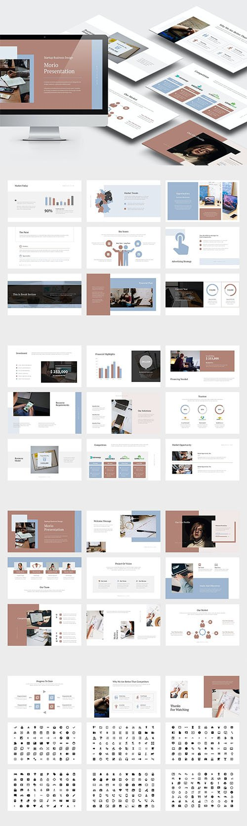 Morio : Startup Investor Relations Powerpoint and Keynote