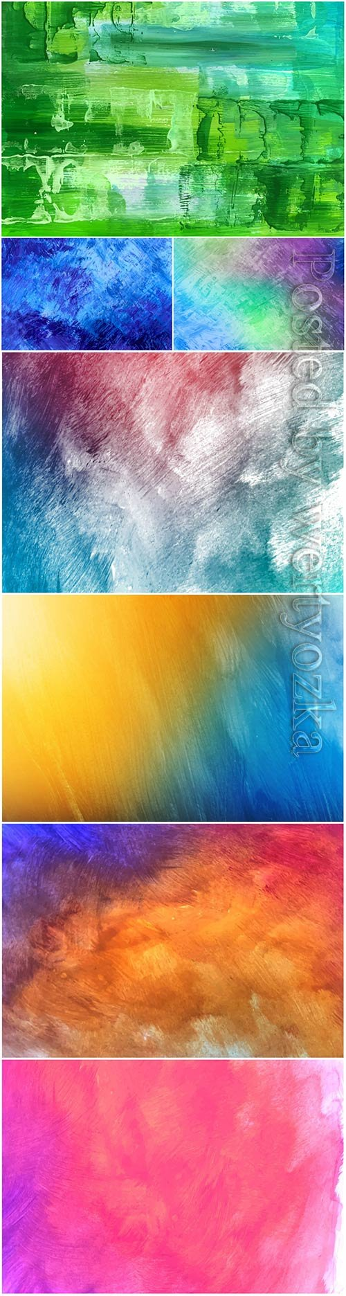 Beautiful watercolor vector texture