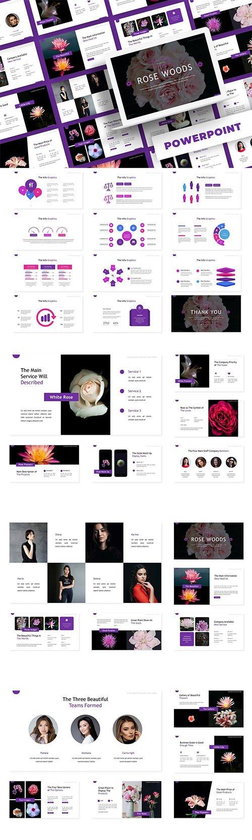 Rose Woods - PowerPoint, Keynote, Google Slides Templates