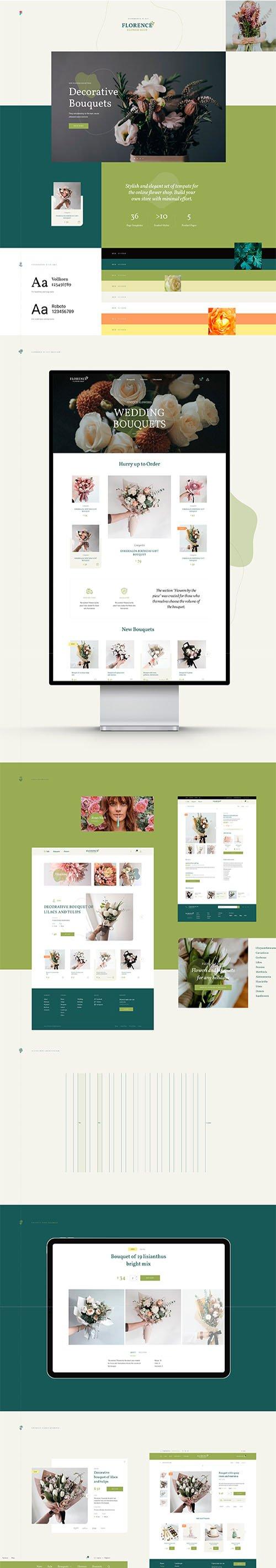 Florence - eCommerce Web UI Kit
