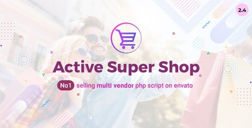 CodeCanyon - Active Super Shop v2.4 - Multi-vendor CMS - 12124432 - NULLED