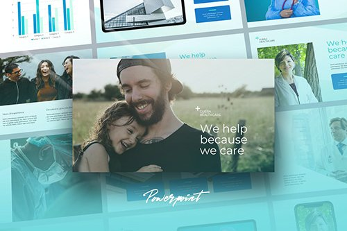 Guera - Healthcare Theme Powerpoint Template