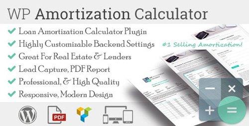CodeCanyon - WP Amortization Calculator v1.5.3 - 13004942