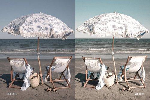 CreativeMarket - Lightroom Preset-Summer on Beach 4976180