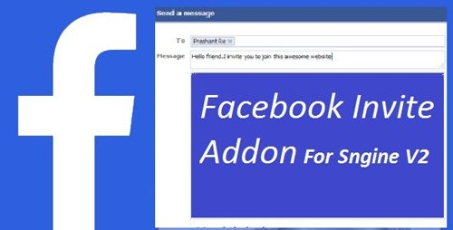 CodeCanyon - Facebook Invite Addon For Sngine v2.6 - 15024999