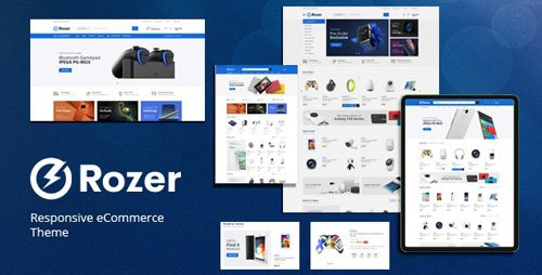 ThemeForest - Rozer v1.0 - Digital Responsive Prestashop Theme - 27018862