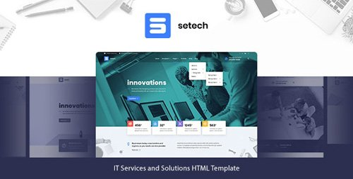 ThemeForest - Setech v1.0 - IT Services and Solutions HTML Template - 26821931