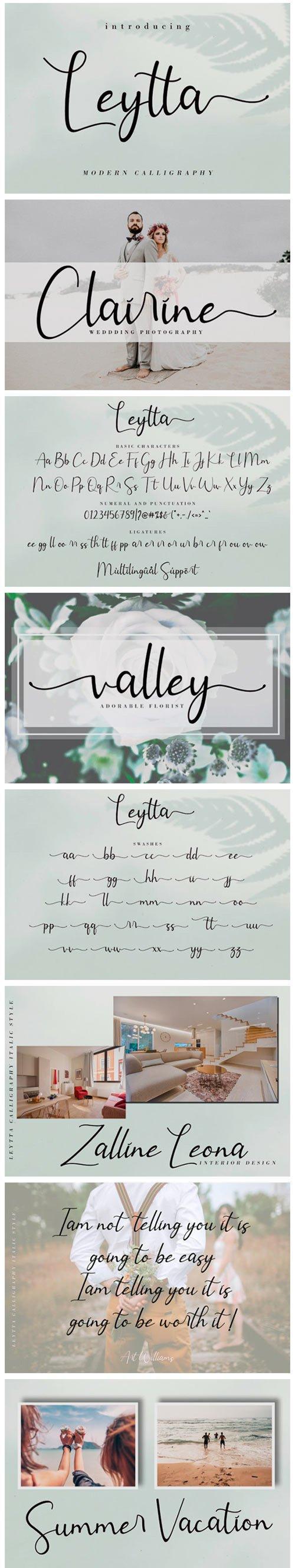 Leytta Font