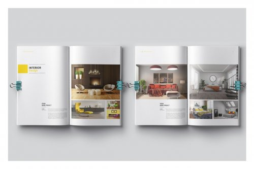 CreativeMarket - PSD Portfolio Template 5017663