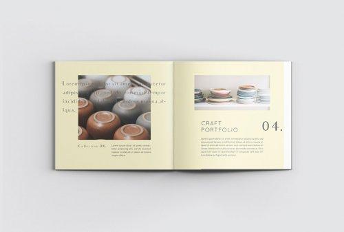 CreativeMarket - Square Natura Portfolio 5018240