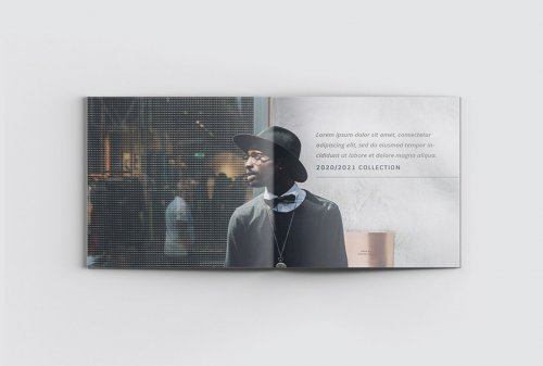CreativeMarket - Travel Square Catalog Brochure 5018242