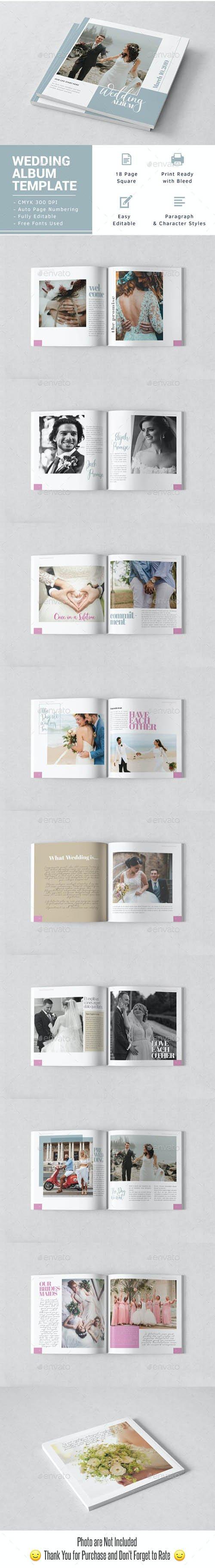GraphicRiver - Wedding Album Indesign Template 23810557