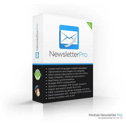 Newsletter Pro v4.8.8 - PrestaShop Module
