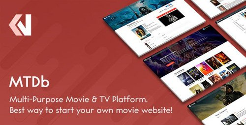 CodeCanyon - MTDb v3.2.1 - Ultimate Movie&TV Database - 6447206