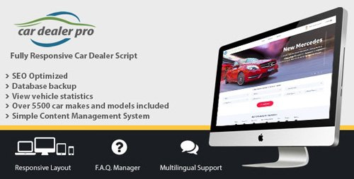 CodeCanyon - Car Dealer Pro v2.03 (Update: 6 February 20) - 7265588
