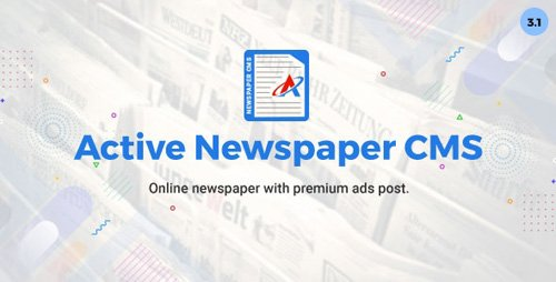 CodeCanyon - Active Newspaper CMS v3.1 - 20838501 - NULLED