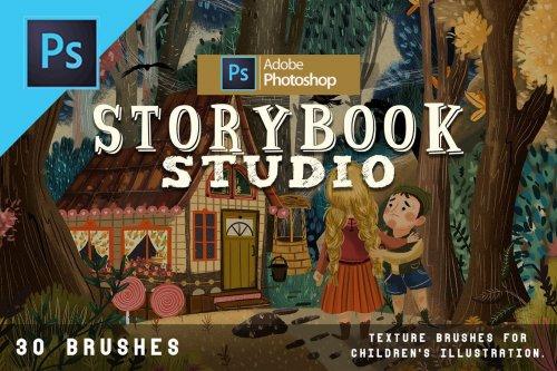 CreativeMarket - Storybook studio Photoshop 5003937