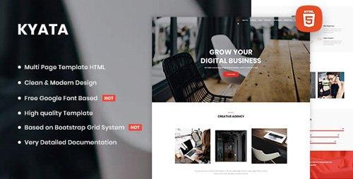 ThemeForest - Kyata v1.0 - Multipurpose HTML5 Template - 26632172