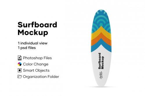 CreativeMarket - Surfboard Mockup 5005187