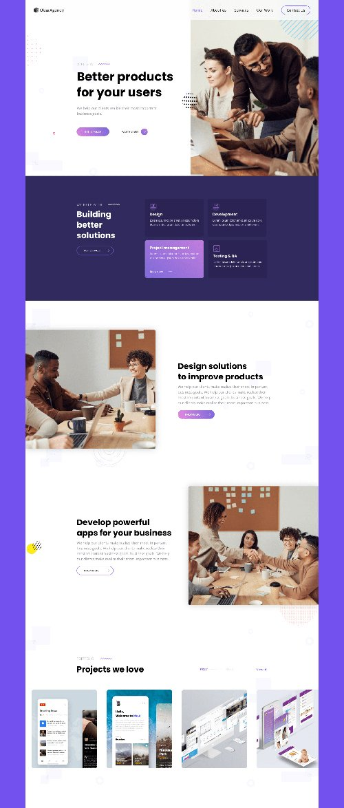ClearAgency - Digital agency website template
