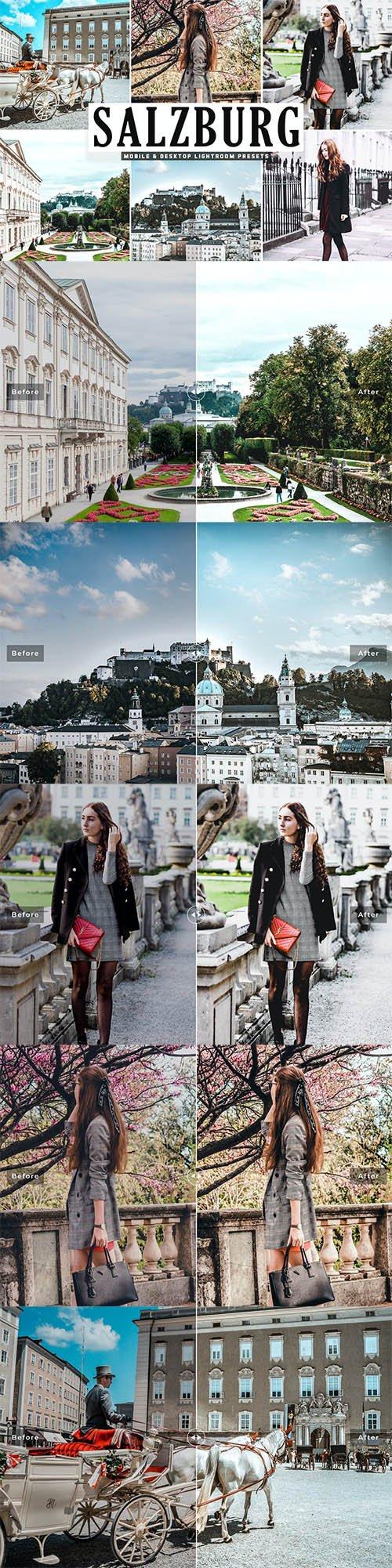 Salzburg Mobile & Desktop Lightroom Presets