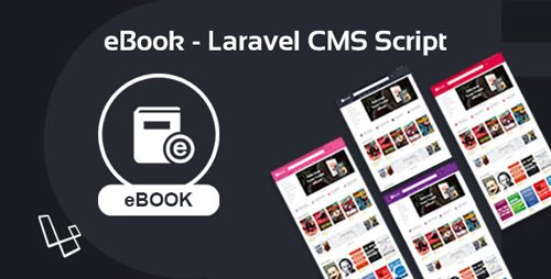 CodeCanyon - eBook v2.0.1 - Laravel CMS Script - 25794201