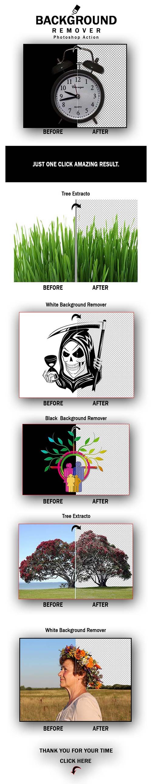 GraphicRiver - Background Remover Photoshop Action 26108315