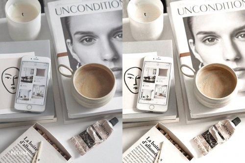 CreativeMarket - Lightroom Preset-Vanilla Creamy 4976198