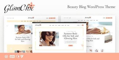 ThemeForest - GlamChic v1.0.2 - Beauty Blog & Online Magazine WordPress Theme - 21704047