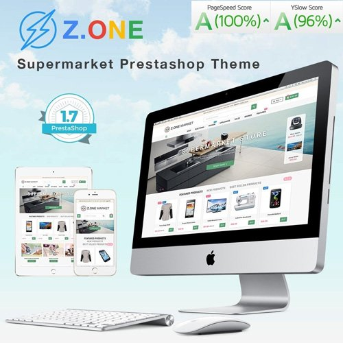 ZOne v2.4.9 - Supermarket Online Shop PrestaShop Template