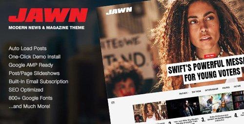 ThemeForest - Jawn v1.4.2 - Modern WordPress News & Magazine Theme - 22829910