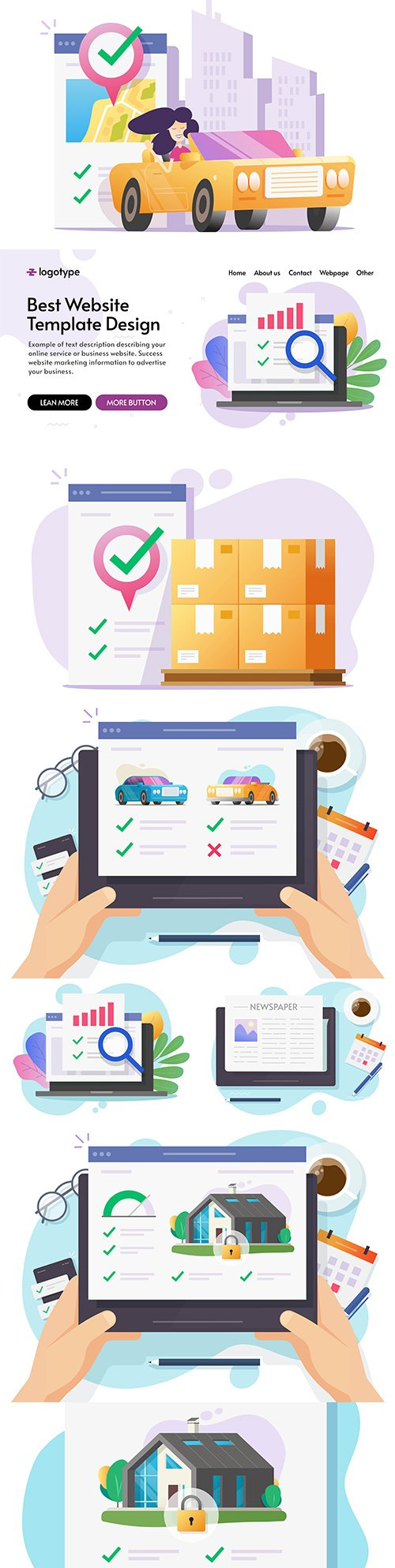 Smart home security and logistics for internet technology delivery