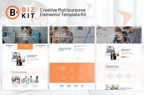 ThemeForest - BizKit v1.0 - Multipurpose Business Template Kit - 27104268