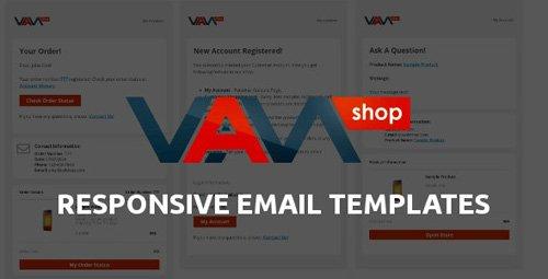 ThemeForest - Responsive Email Templates for eCommerce WebSite v1.0 - 27115348