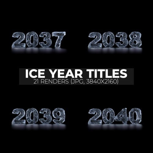 Ice New Year Titles (2020-2040)