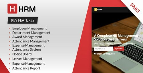 CodeCanyon - HRM SAAS v4.1.1 - Human Resource Management - 23400912 - NULLED