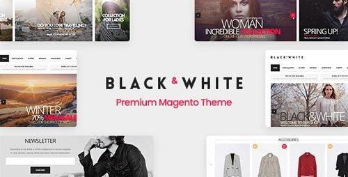 ThemeForest - Black&White v2.9.7 - Responsive Magento 2.3.5 Theme - 7120758