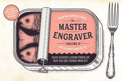 CreativeMarket - Illustrator Artist's Brush Anthology 5030812
