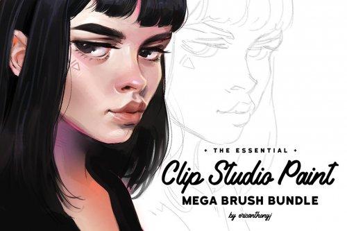 CreativeMarket - Clip Studio Paint - Mega Bundle 4456286