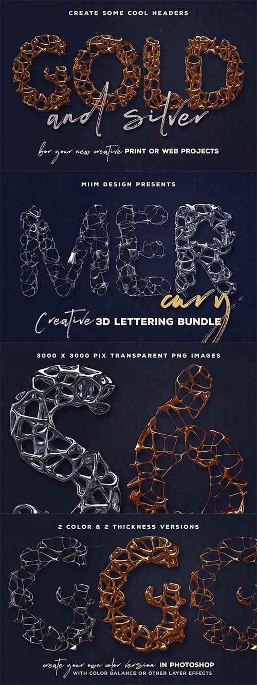 Mercury – 3D Lettering