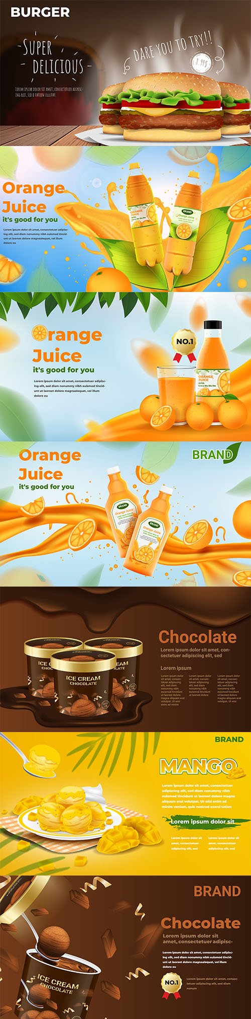 Food and Drink Illustrations