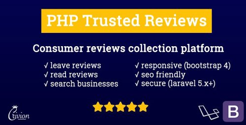 CodeCanyon - PHP Trusted Reviews v1.0.7 - 24581189 - NULLED