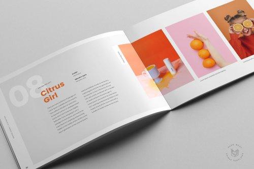 CreativeMarket - Croma Landscape Portfolio + Resume 5032906