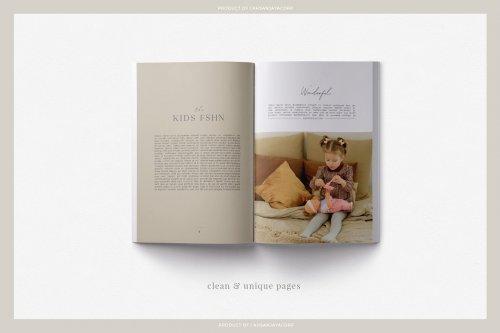 CreativeMarket - SAMANTHA - LOOKBOOK 5031237