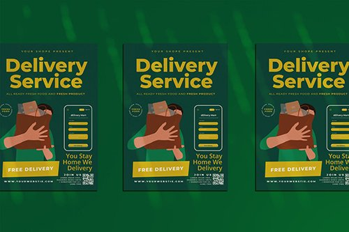Delivery Service Flyer