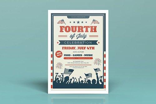 Fourth of July Celebration Flyers