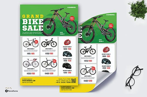 Monbike - Product PSD Poster RB